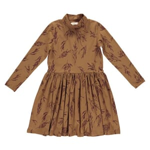 Cecilie Dress tobacco - Gro Company