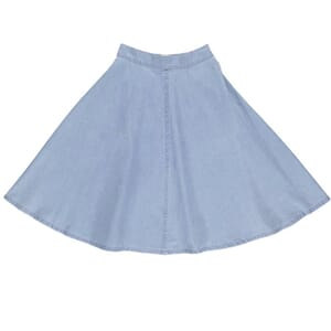 Greta Long Skirt Denim  - Gro Company