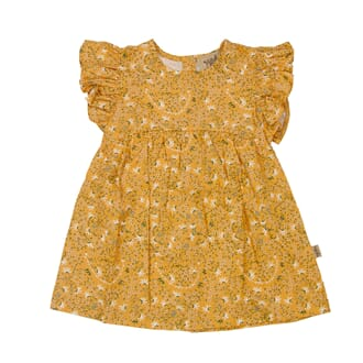 Cosette Dress Ochre - MeMini