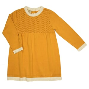 Carla dress Apricot Yellow - MeMini