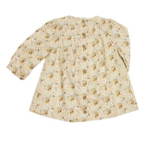 Ellie Dress Honey Flowers - MeMini
