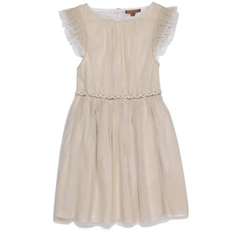 Golden Glacier Dress cream - Ilovegorgeous