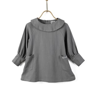 Coco Dress Cool Grey - Donsje