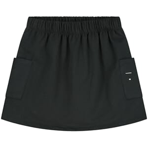 Pocket Skirt Nearly Black - Gray Label