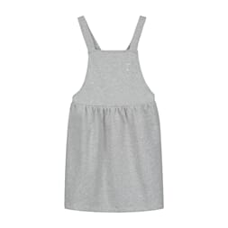 Pinafore Dress Grey Melange - Gray Label