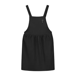 Pinafore Dress Nearly Black - Gray Label