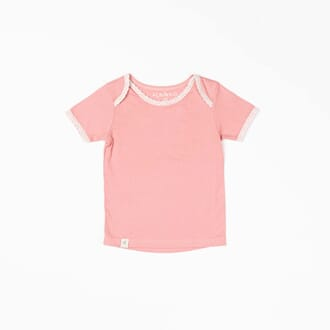 Vera T-shirt brandied apricot adorable tiles - Albababy