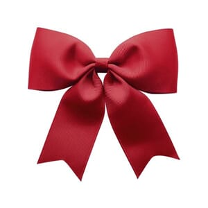 X-large bowtie bow with tails scarlet - Milledeux