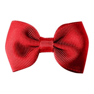 Small bowtie bow scarlet - Milledeux