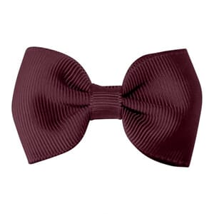 Small bowtie bow burgundy - Milledeux