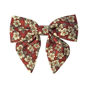 Medium bowtie bow with tails Liberty Ffion - Milledeux