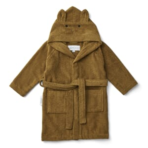 Lily bathrobe rabbit olive green - Liewood