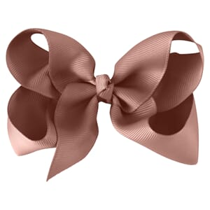 Large boutique bow antique mauve - Milledeux