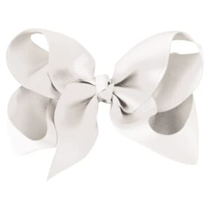 Large boutique bow white - Milledeux