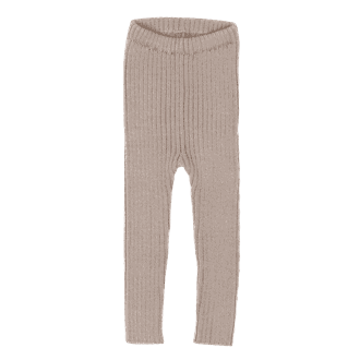 Rib Leggings Rose - Esencia