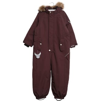 Snowsuit Miley eggplant - Wheat
