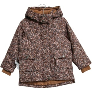Jacket Esther Tech Dot Flowers - Wheat