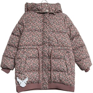 Down Jacket Kamma eggplant flowers - Wheat