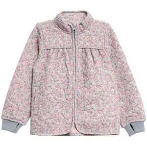 Thermo Jacket Thilde dusty dove flowers - Wheat