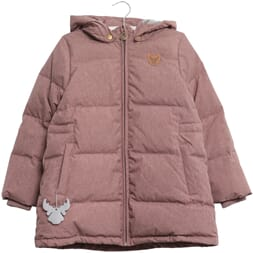 Down Jacket Melika dusty rouge - Wheat