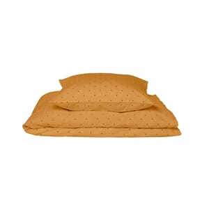 Ingeborg junior bedding dot mustard 100x140 - Liewood