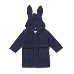 Lily bath robe rabbit navy - Liewood