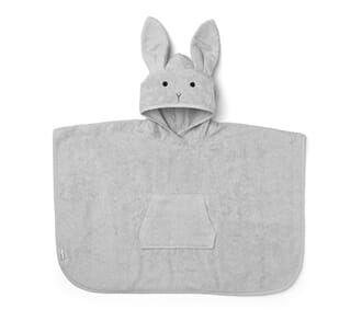 Orla poncho rabbit dumbo grey - Liewood