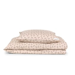 Ingeborg cat rose blush bedding 100x140 - Liewood