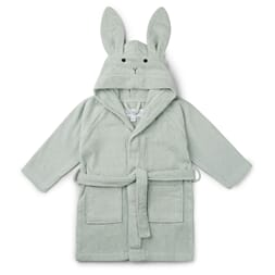 Lily bath robe rabbit dusty mint - Liewood