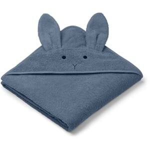Augusta towel Rabbit blue wave - Liewood