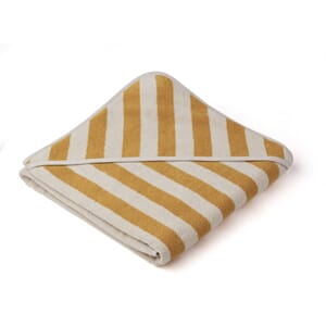 Louie hooded towel yellow mellow/sandy - Liewood