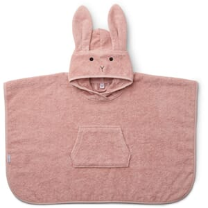 Orla poncho rabbit rose - Liewood