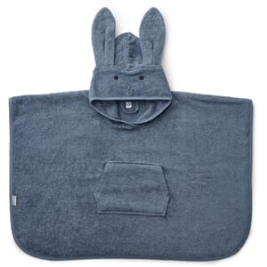 Orla poncho rabbit blue wave - Liewood