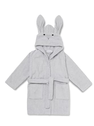 Lily bath robe rabbit dumbo grey - Liewood