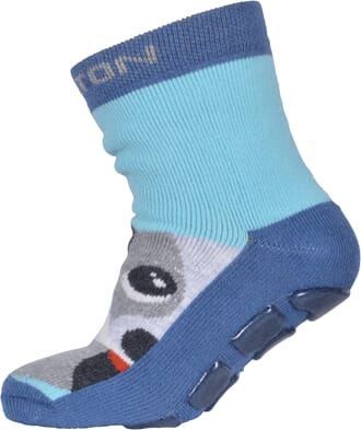 ABS Sock Terry - Dog w/Bone light denim - Melton