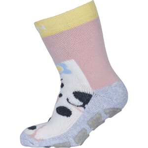 ABS Sock Terry - Dog w/Flower alt rosa - Melton