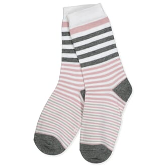 Sock - Stripes Alt Rosa - Melton