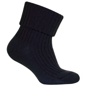 Basic Sock - Wool w/Heavy Rip marine - Melton
