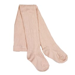 Heart Baby Tights Dusty Peach - MeMini