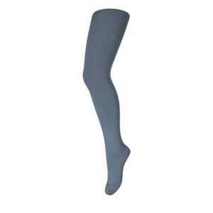 Tights Wool/Cotton Plain stormy sea - MP