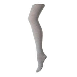 Tights Wool/Cotton Plain grey marl. - MP
