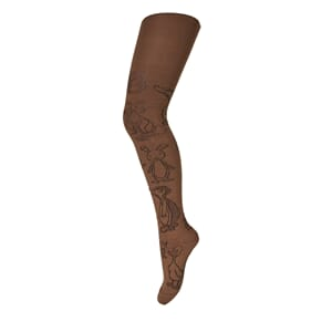 Tights Animals dark honey - MP