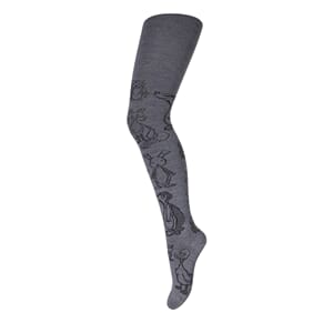 Tights Animals grey marl. - MP