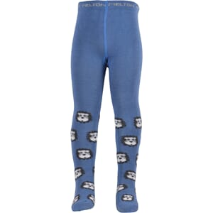 Babytights - Lion brill blue - Melton