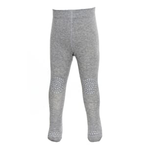 Tights grey melange wool - GoBabyGo