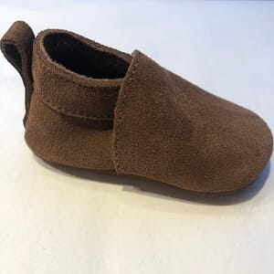 Softies shoe brown suede - Pom Pom