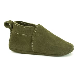 Softies shoe green suede - Pom Pom