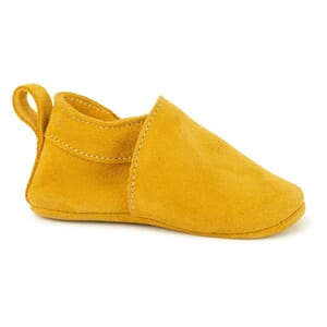 Softies shoe mustard suede - Pom Pom