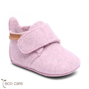 Home shoes wool blush - Bisgaard