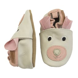 Leathershoe - Teddy w. ears Chintz Rose - Melton